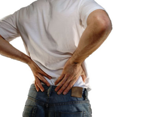 Bad habits that can cause back pain.